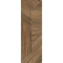 Woodskin Brown Ściana B Struktura Rekt. 29.8x89.8 Gat.1