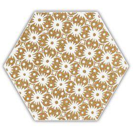 Shiny Lines Gold Heksagon Inserto D 1 19.8x17.1 Gat.1