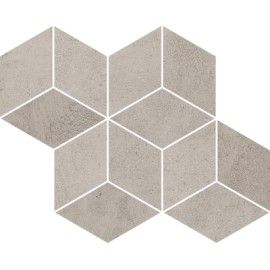 Pure City Grys Mozaika Prasowana Romb Hexagon 20.4x23.8