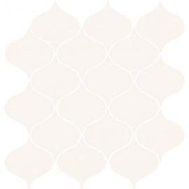 OCEAN ROMANCE WHITE MOSAIC SATIN 28,1x29,3 GAT.1