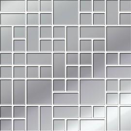 PLATINUM GLASS MOSAIC 25X25 GAT.1