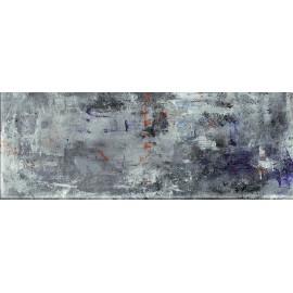 GRUNGE BLUE A DEKOR SZKLANA 32,8x89,8 GAT.1